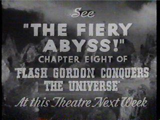 Next week: THE FIREY ABYSS